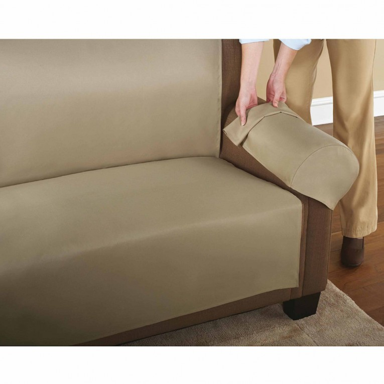 Alluring Waterproof Couch Cover Light Green Color