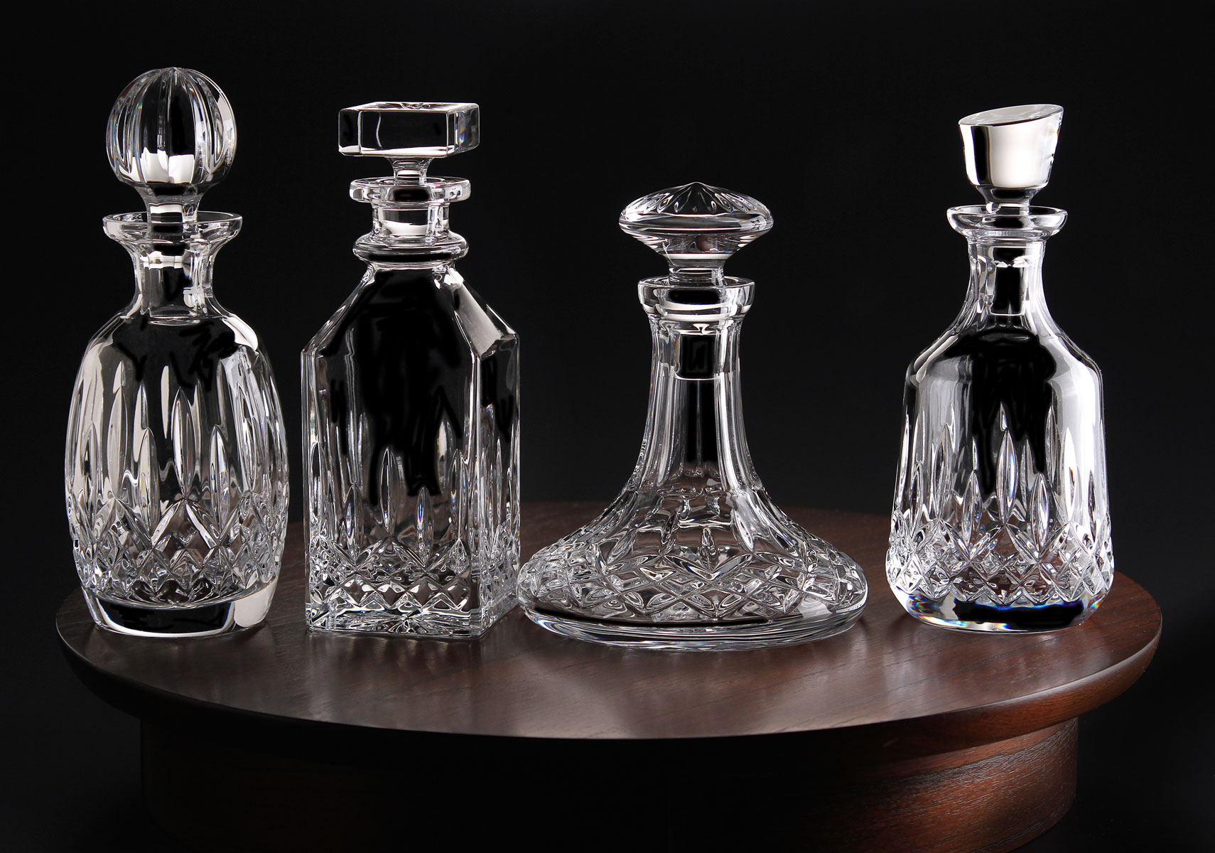 amusing waterford crystal decanter waterford crystal lismore for dining display serveware ideas