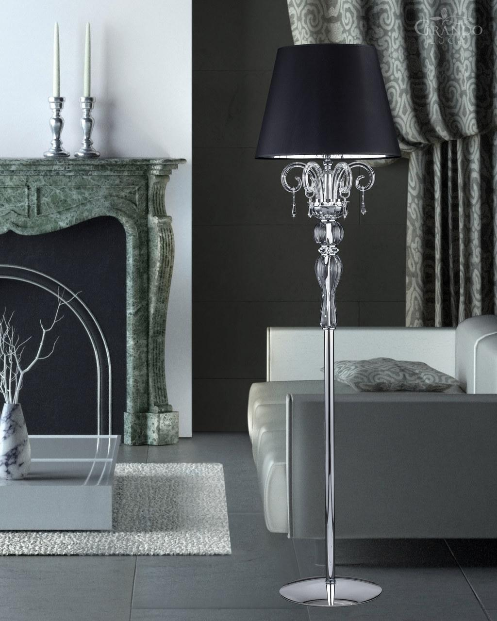 appealing crystal floor lamp with unique design and good for your home light ideas