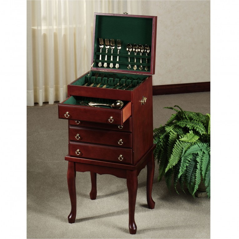 Beautiful Design Silverware Chest With 50 Height