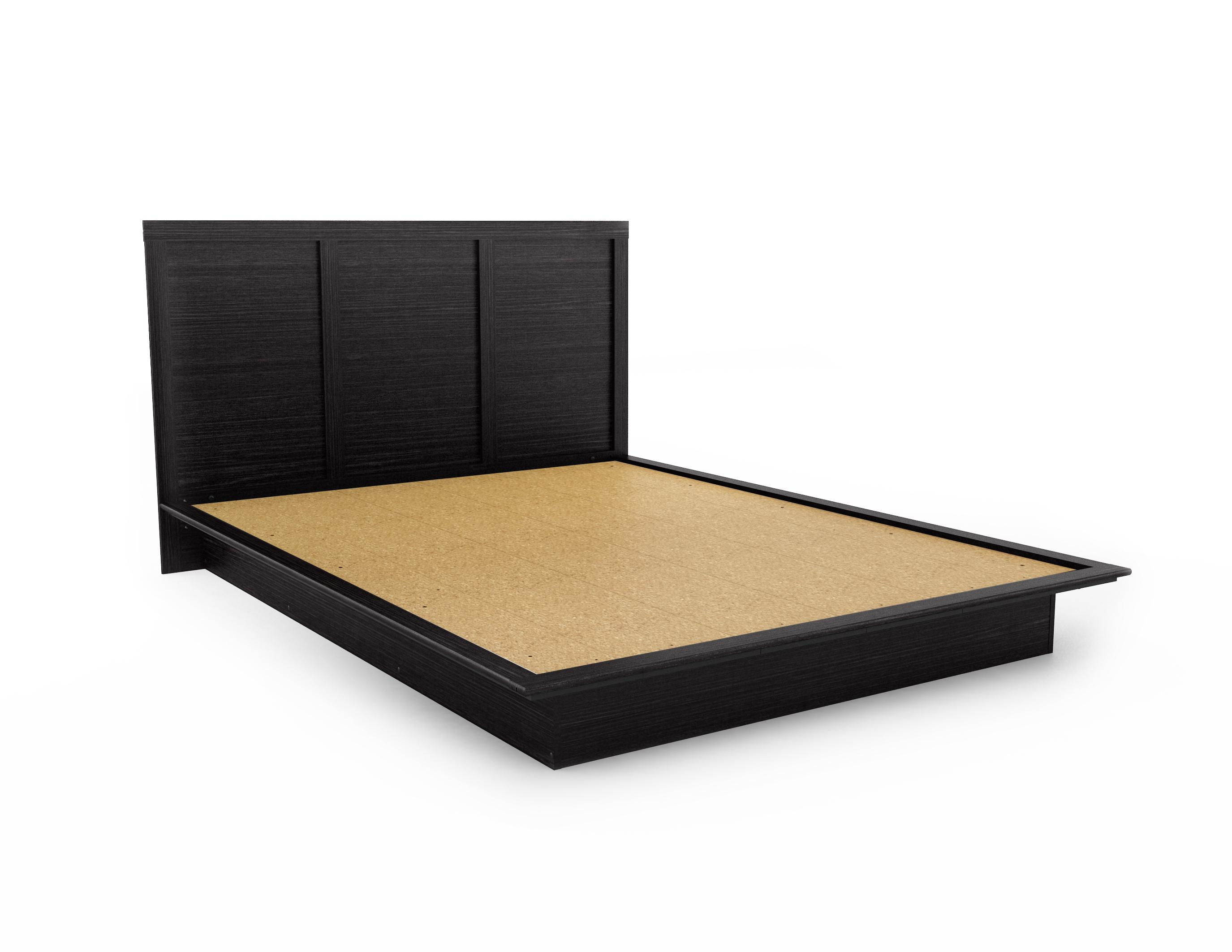 black headboards queen size platform bed