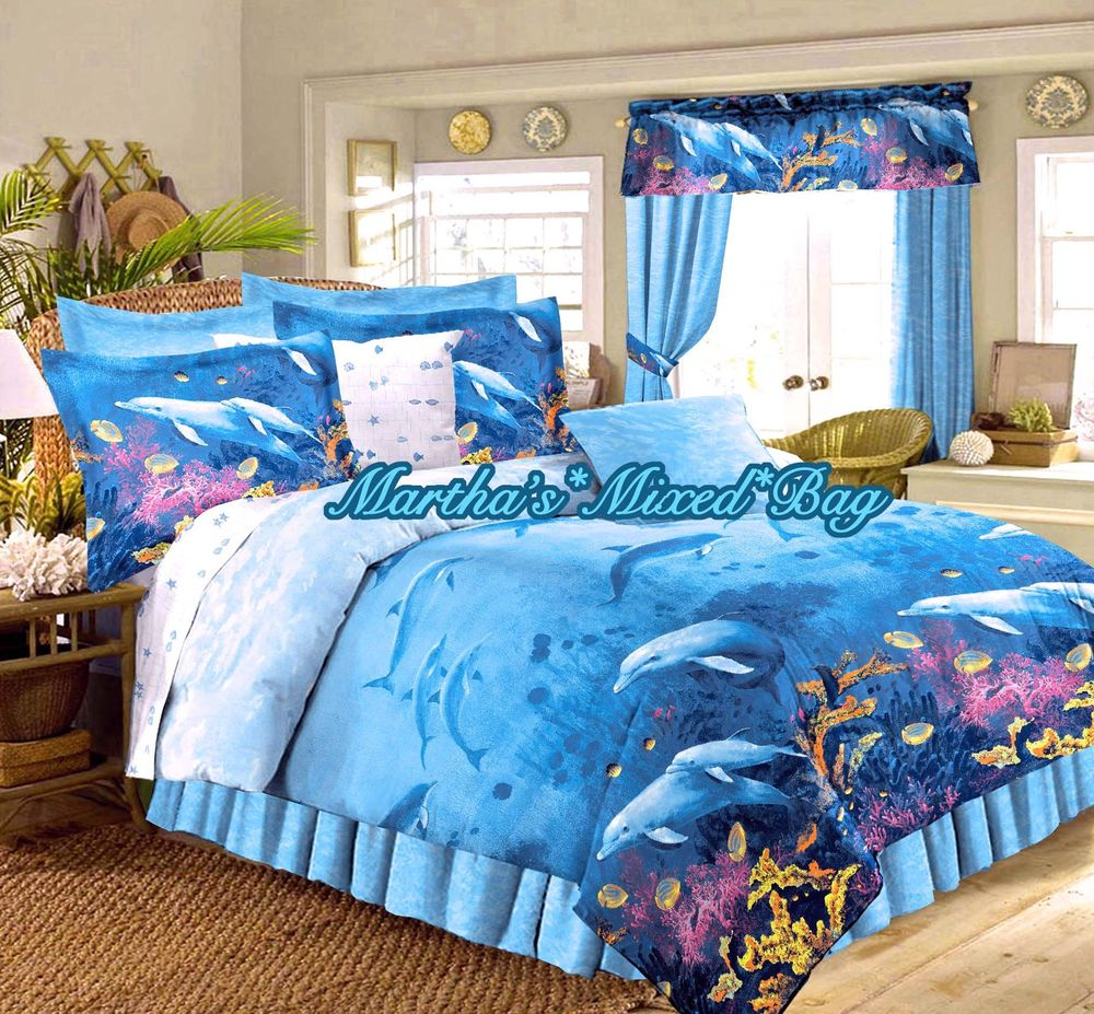 charming blue sea comforters for teens with jute rug and chair also wooden floor