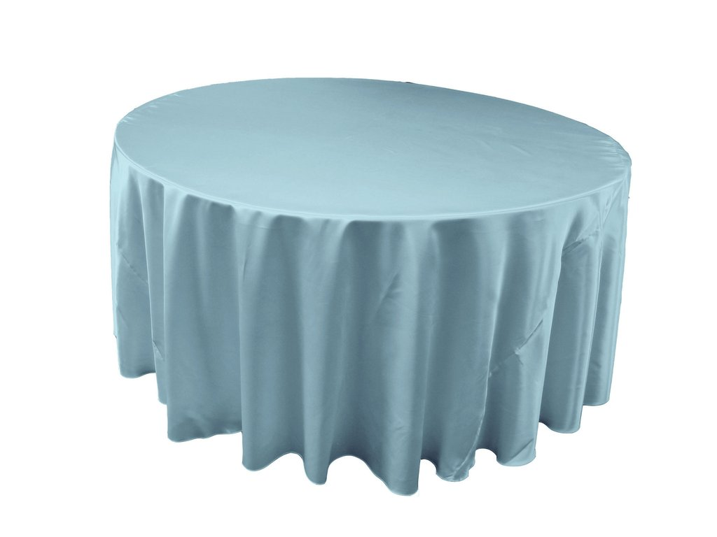 Unique Colors 120 Round Tablecloth for Dining Room Furniture Ideas: Classic Blue 120 Round Tablecloth Linen