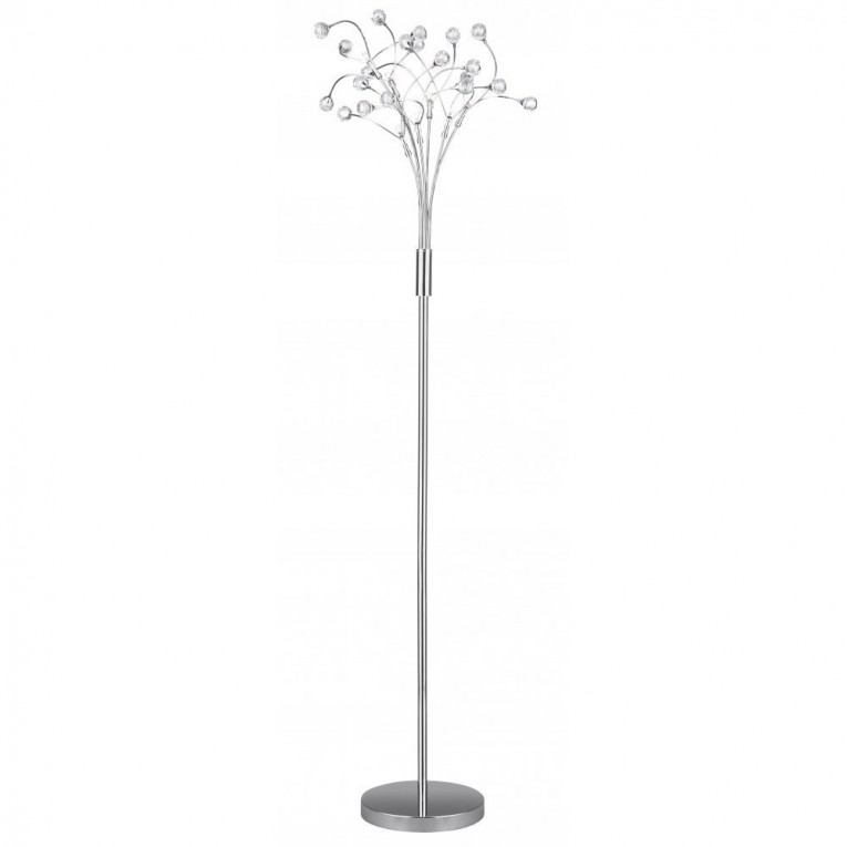 Classy Crystal Floor Lamp With Unique Design And Good For Your Home Light Ideas