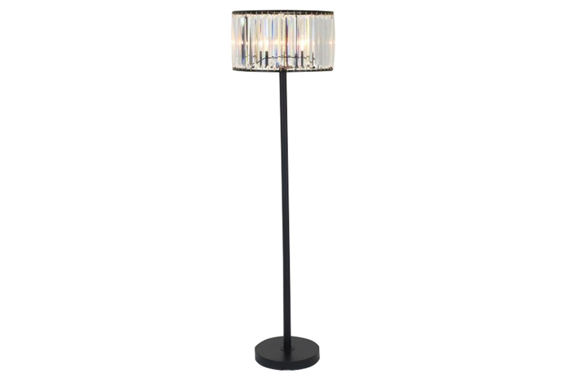 cute crystal floor lamp with unique design and good for your home light ideas