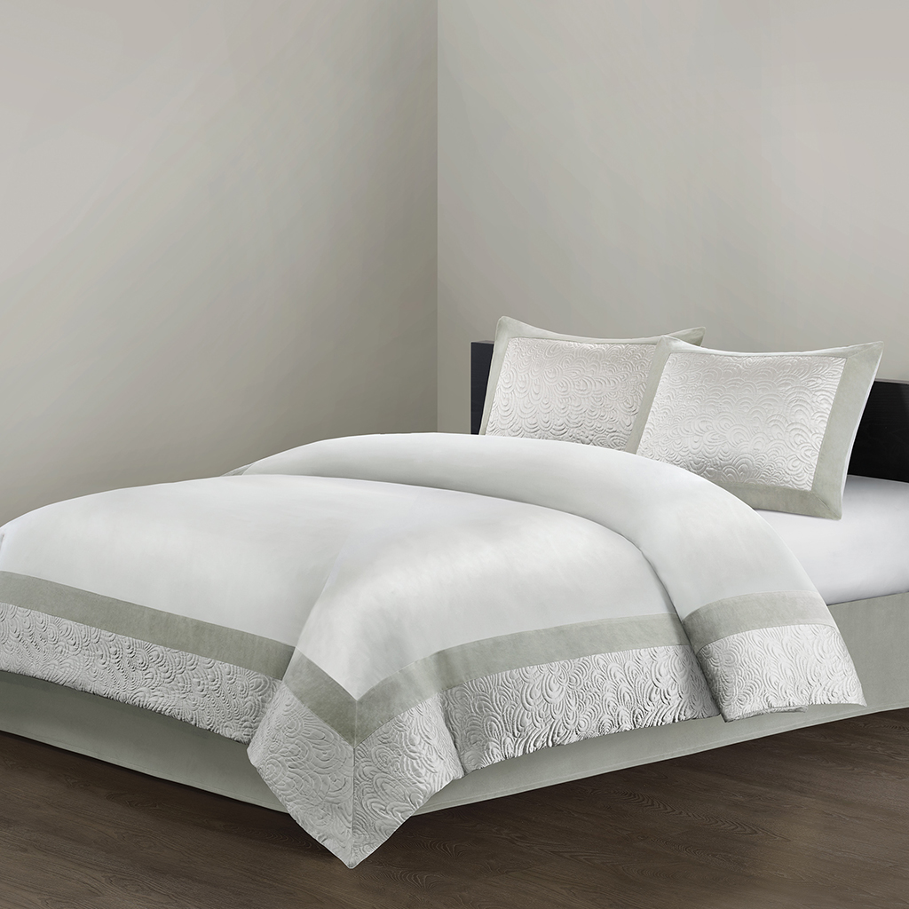 cute white comforter of natori bedding