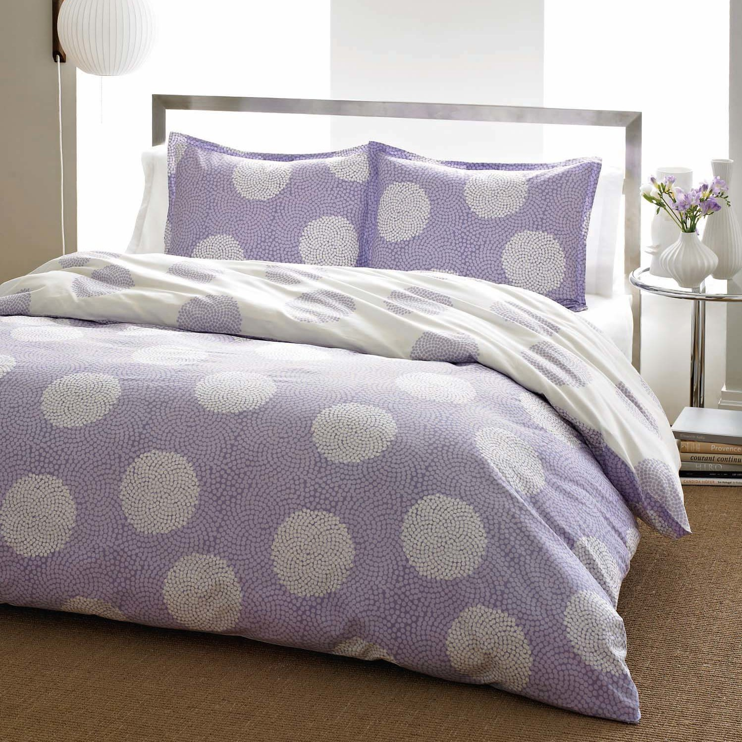 endearing comforters for teens with purple girls color