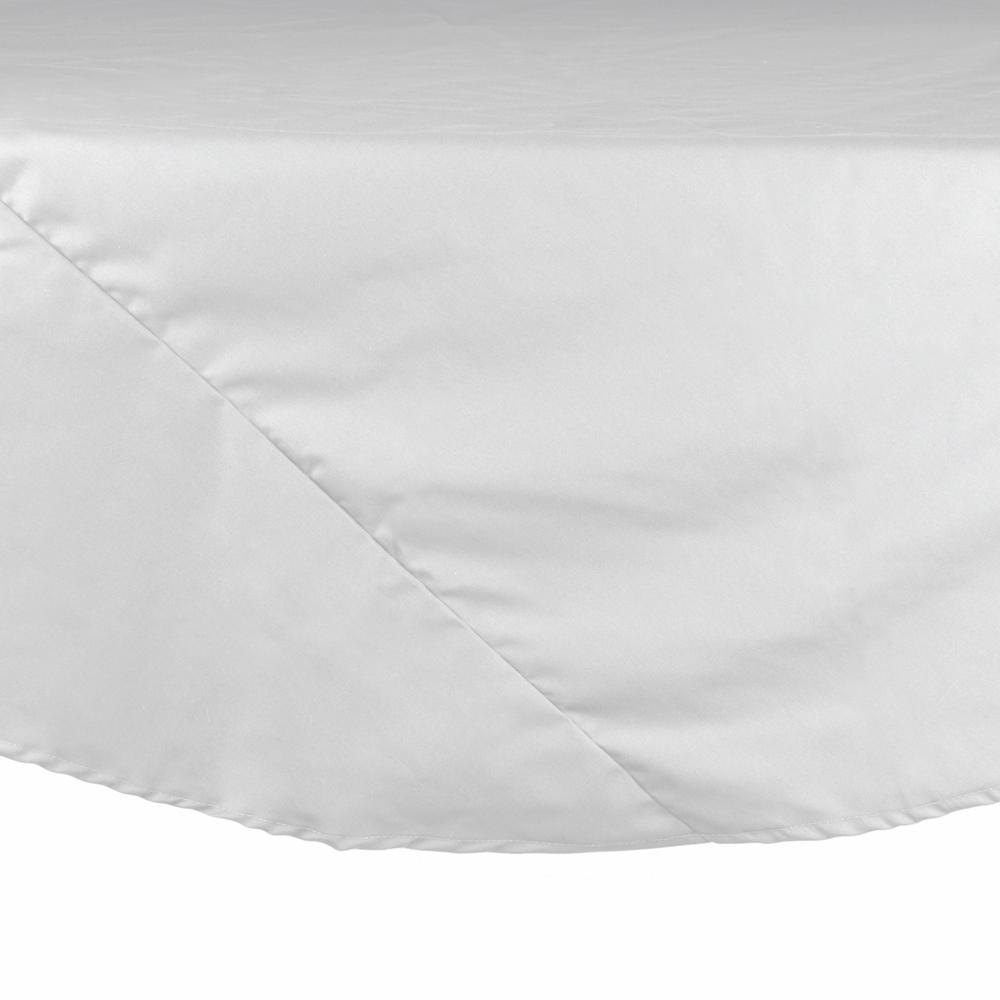 exciting white 120 round tablecloth