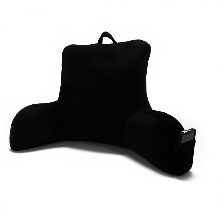 Fahionable Light Backrest Pillow With Arms With Black Color