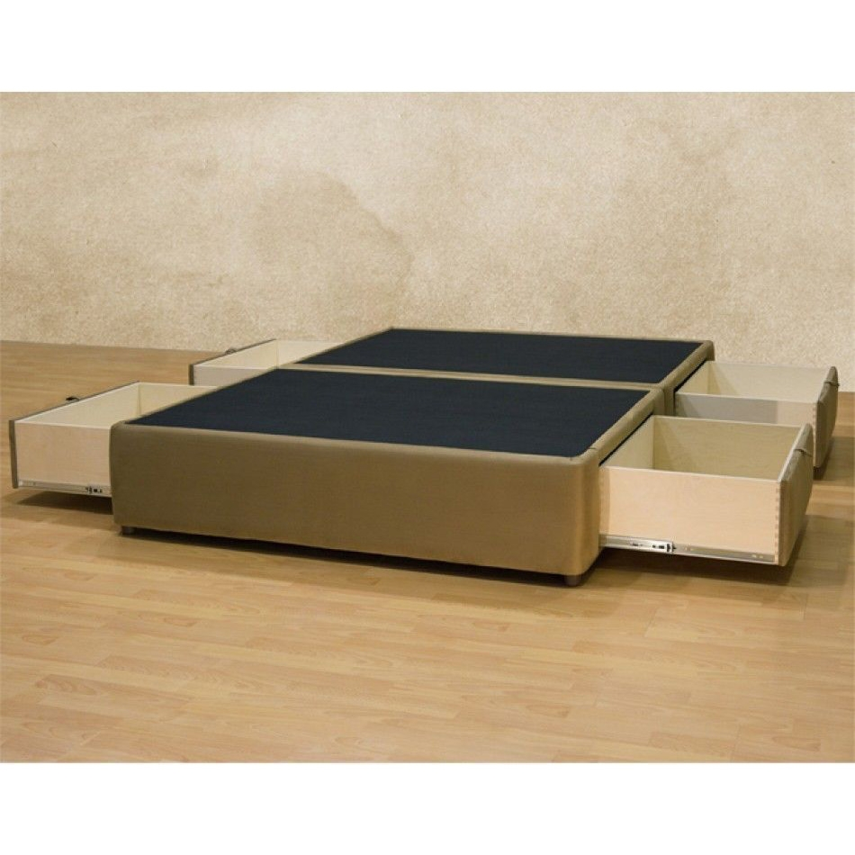 interesting queen size platform bed and storage drawers