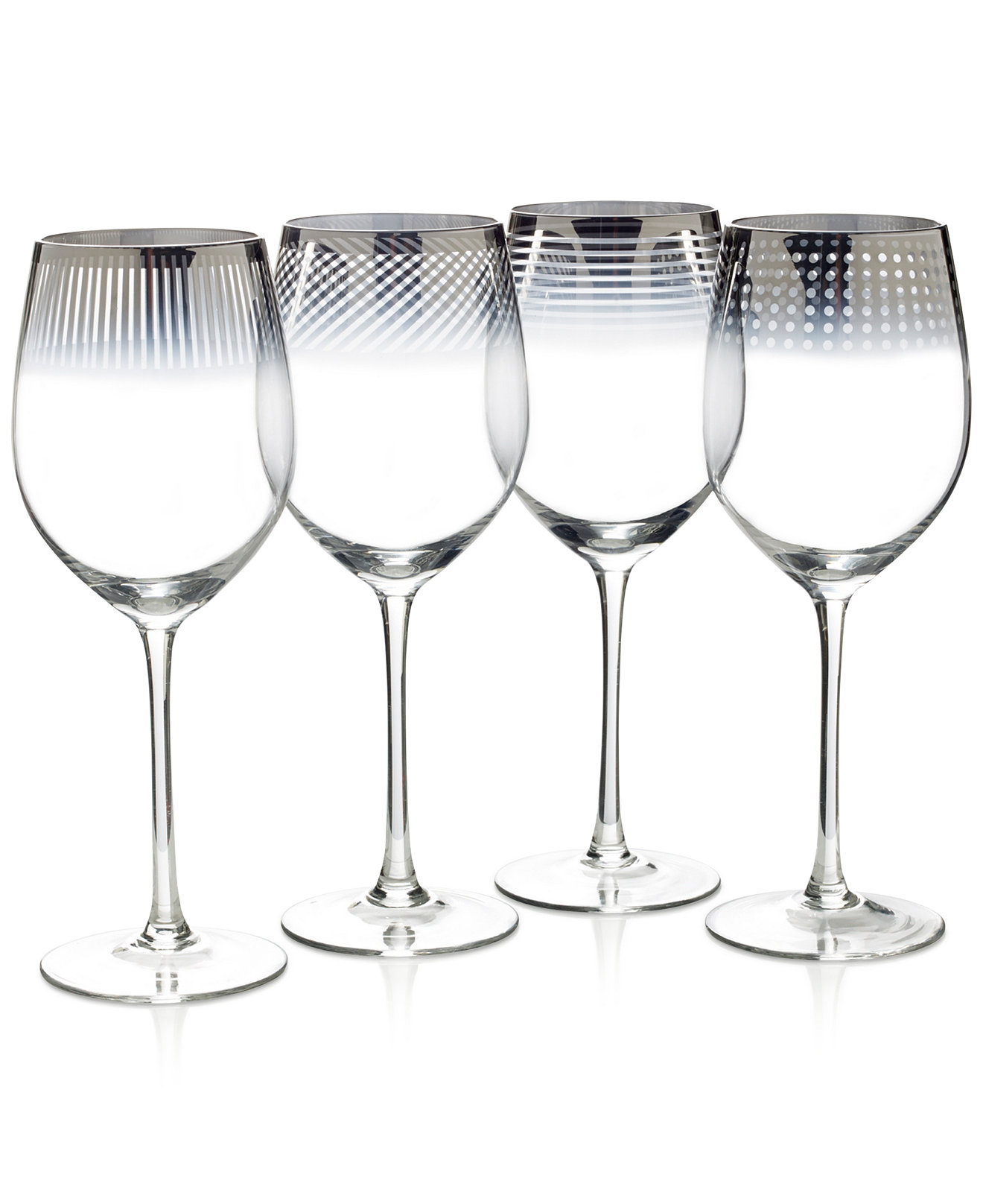 Lovely Mikasa Wine Glasses 4 Pieces