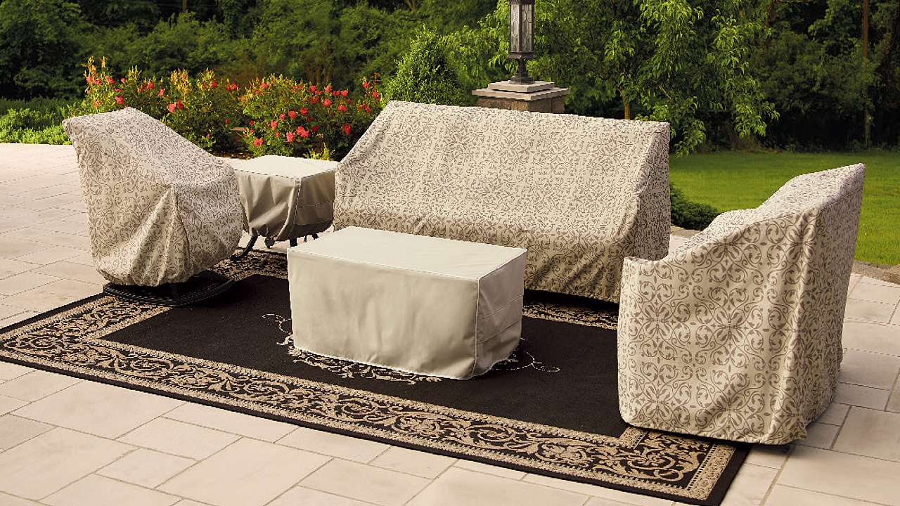 lovely waterproof couch cover with rugs and  for outdoor