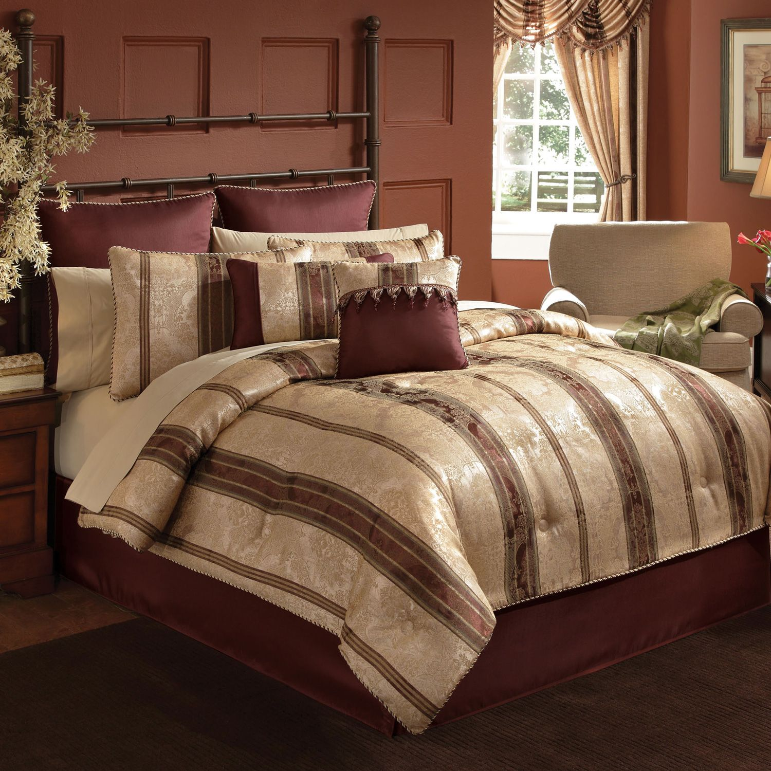 Markis Bedding Sets King With Pillows Sets Color. Comforter ...