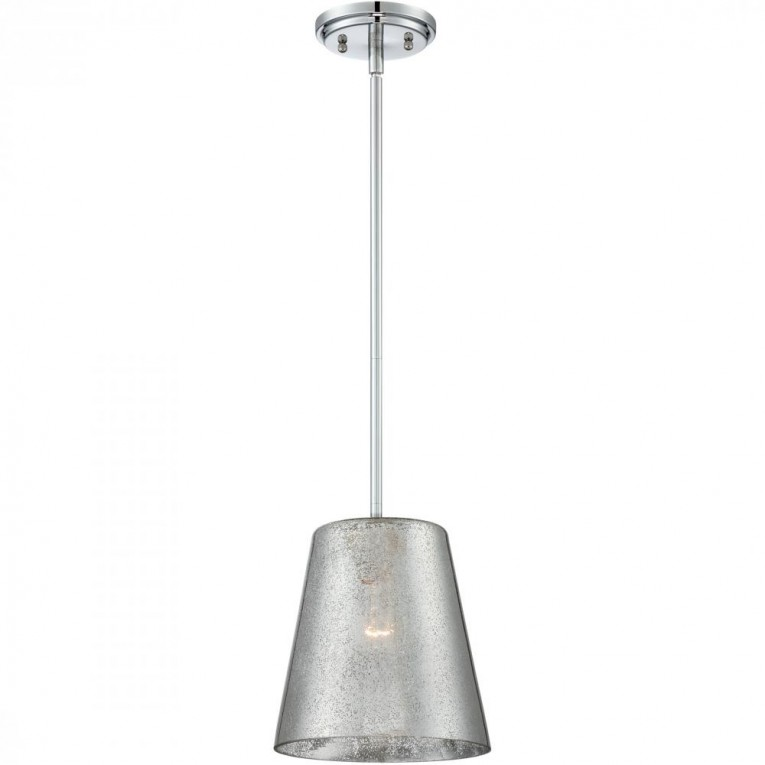 Mercury Glass Pendant With Jmini Stainless Pendant Lamp