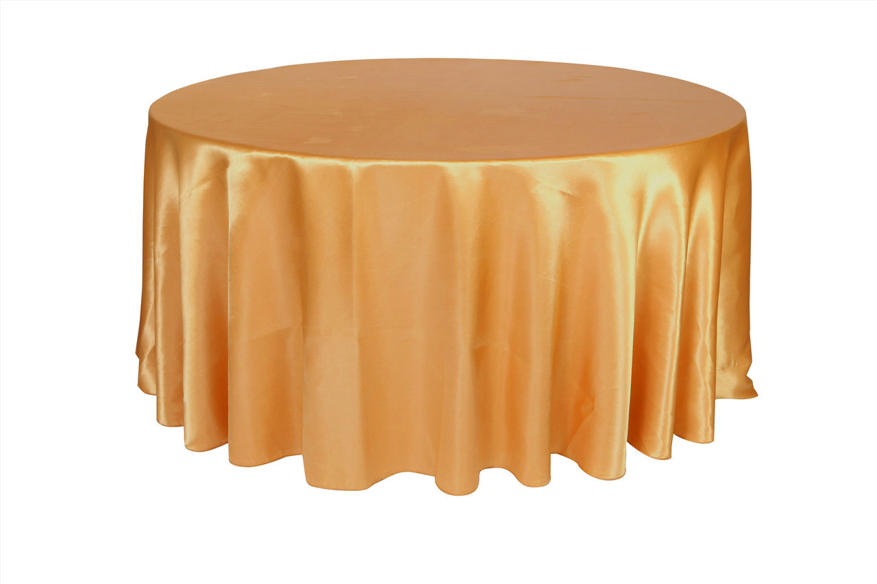 Unique Colors 120 Round Tablecloth for Dining Room Furniture Ideas: Mesmerizing 120 Round Tablecloth Gold Colors