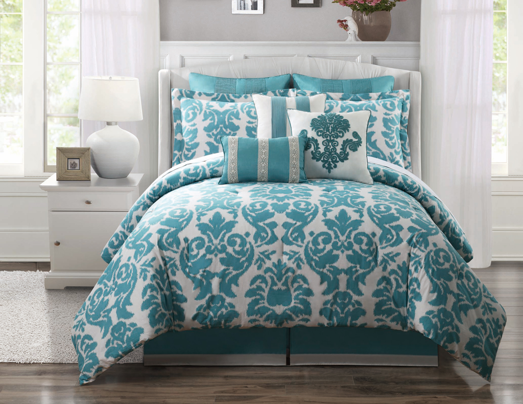 mesmerizing design ocean blue bedding sets king