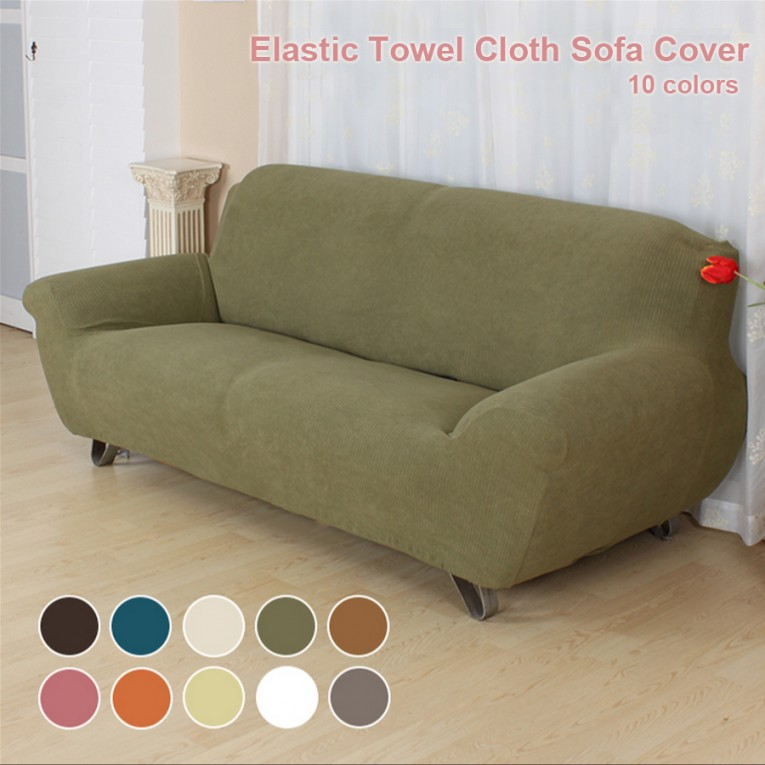 Mesmerizing Green Waterproof Couch Cover