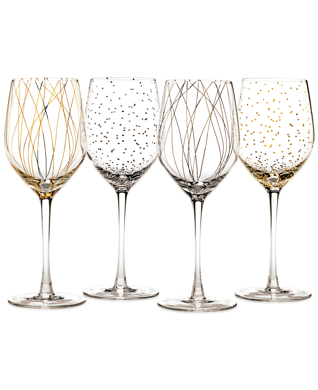 Mesmerizing Mikasa Wine Glasses 4 Pieces