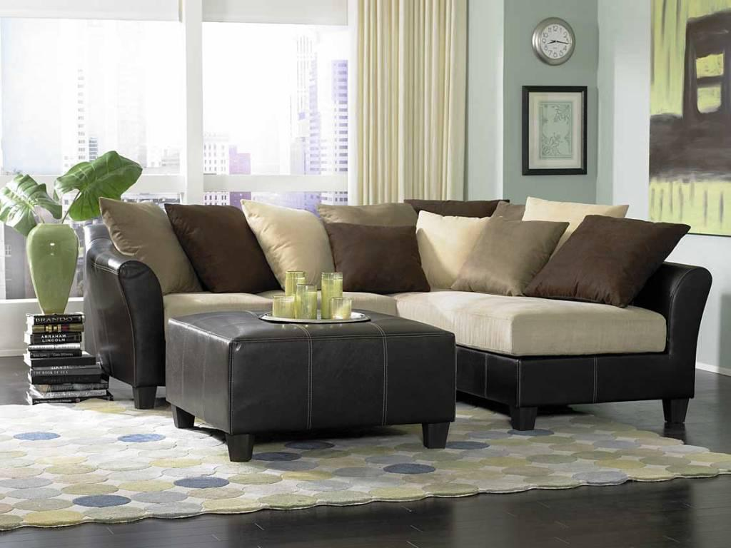 nice beautiful living room sectionals with ottoman and rug