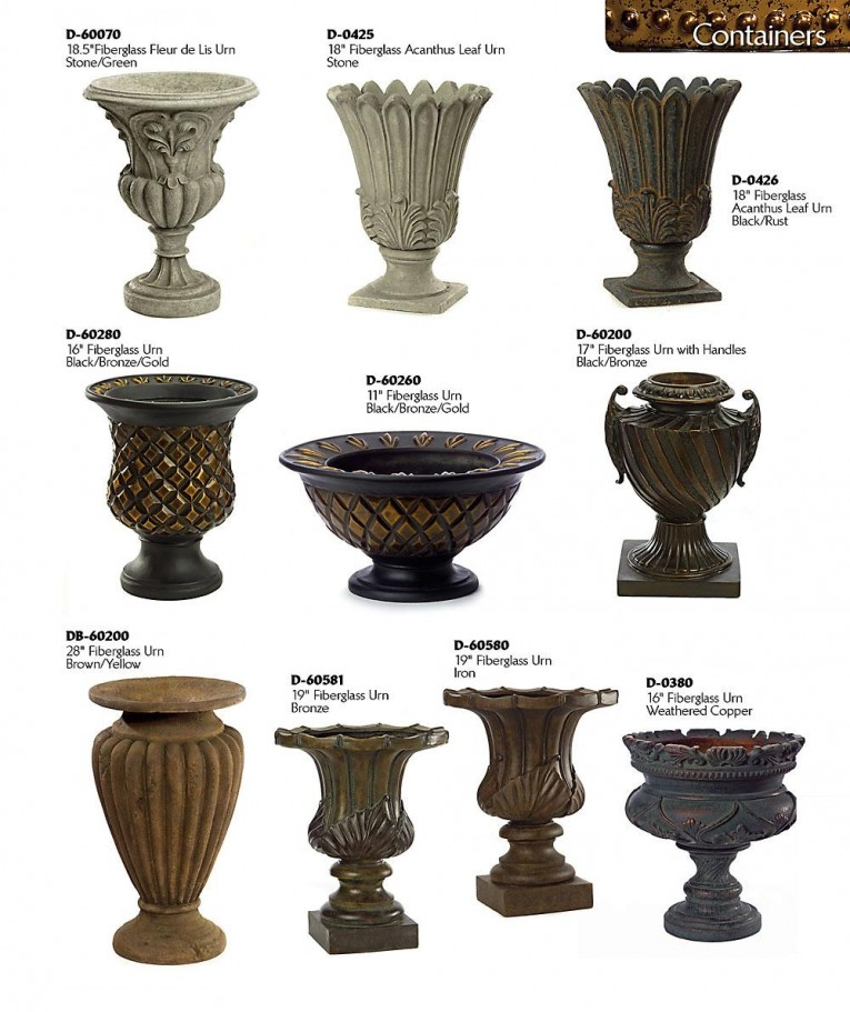 Nice Variant Urn Planters For Sale