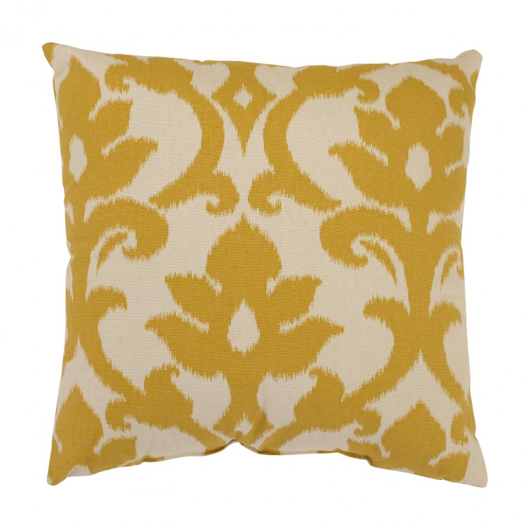 Sofa Pillows Yellow Color Of Pillows