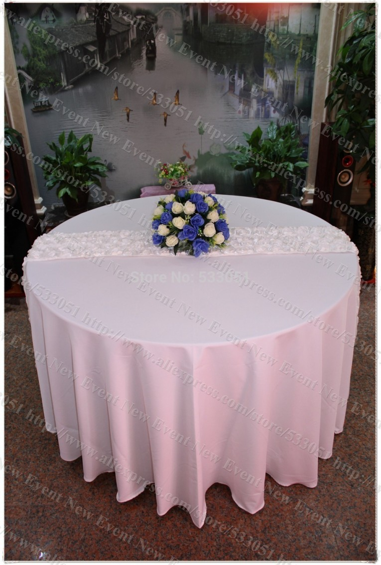 Unique 120 Round Tablecloth With Round Polyester