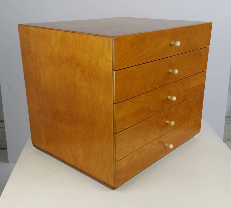 Unique Box Silverware Chest With Four Drawers