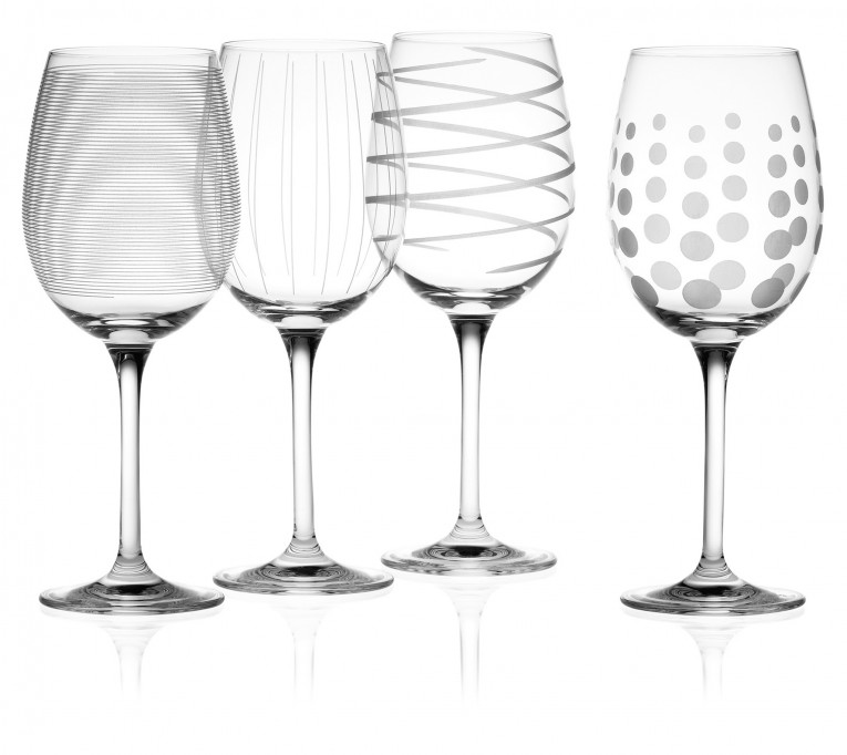 Unique Design Of Mikasa Wine Glasses