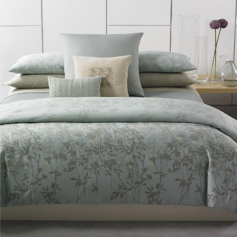 Unique Pattern Light Blue Natori Bedding