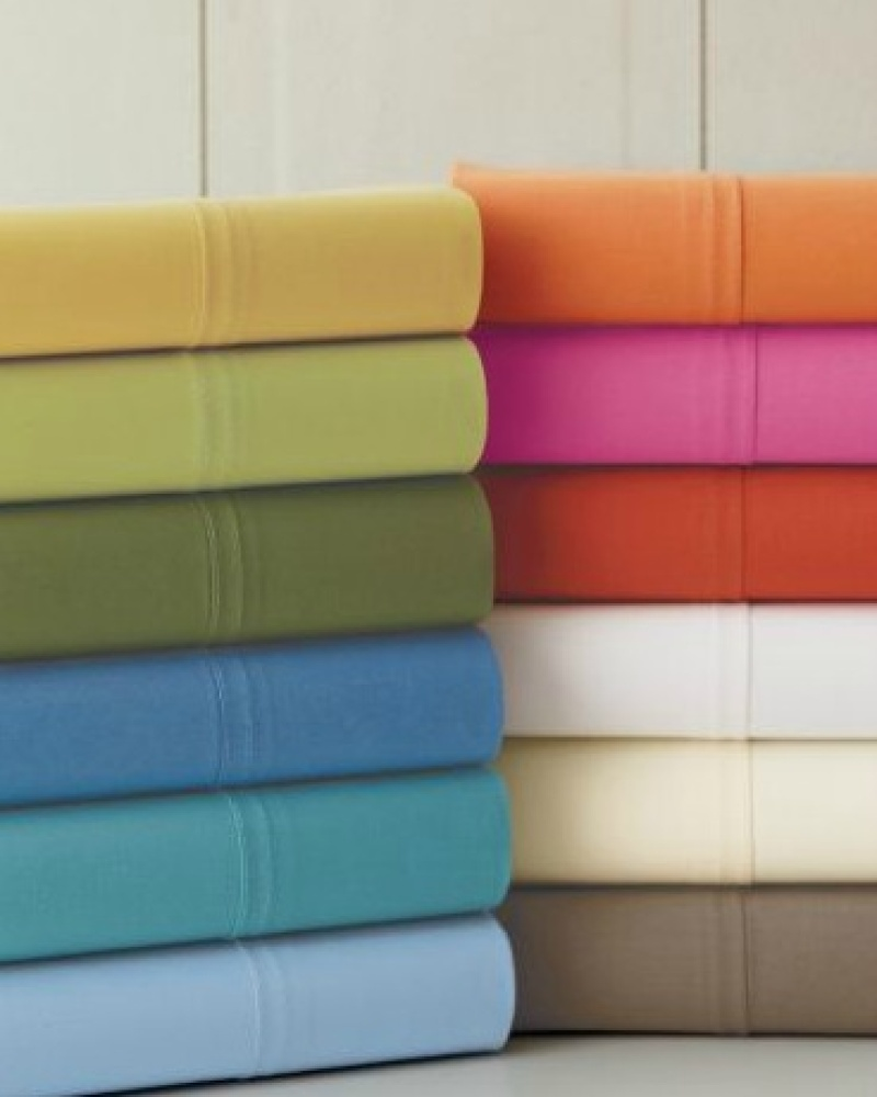 unique percale sheet sets with assorted colors