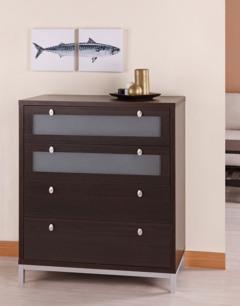 Unique Table 4 Drawer Dresser