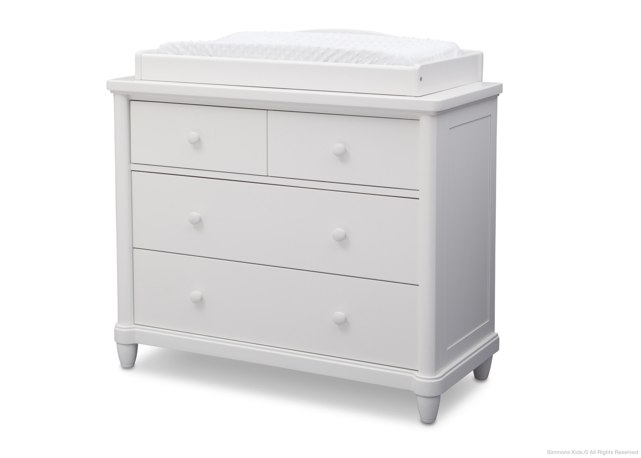 unique white 4 drawer dresser for home living room ideas