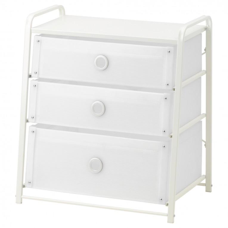 White Color 4 Drawer Dresser Ideas