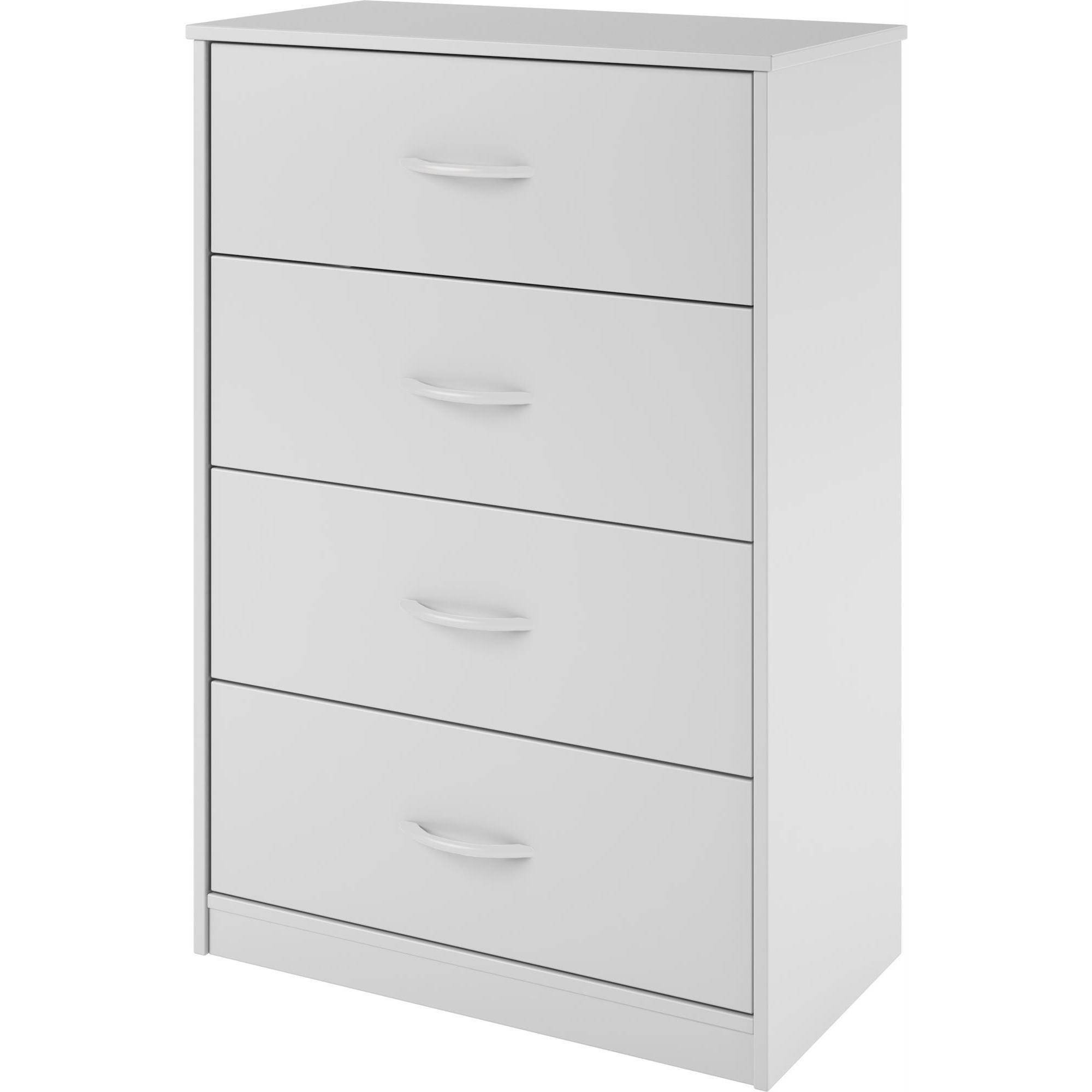 white design 4 drawer dresser