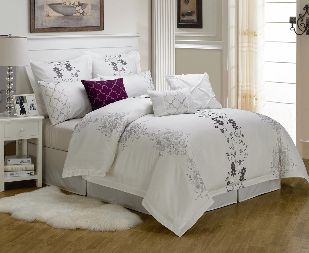 White Duvet And White Comforter Rug Also Bedding Sets King