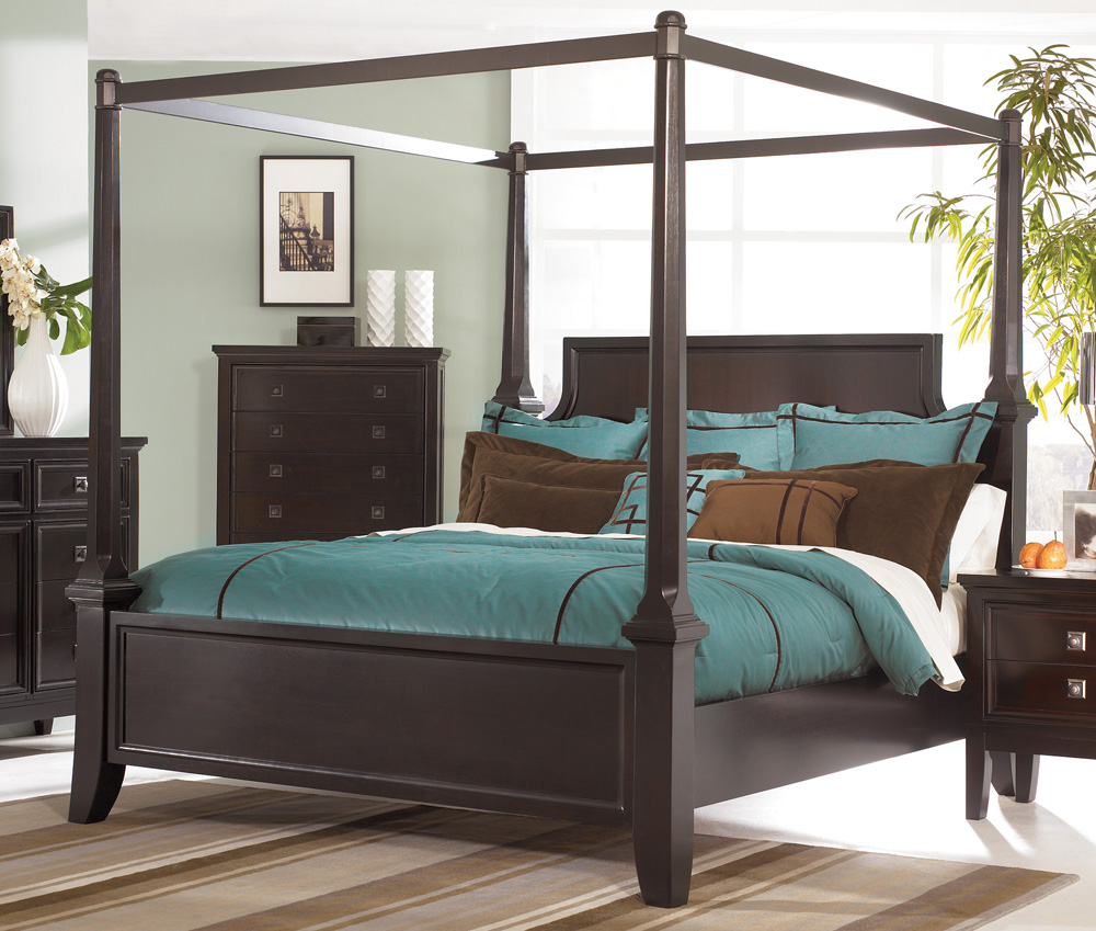 wonderful king size canopy bed & Bedroom: Gorgeous Bedroom Fill With King Size Canopy Bed u2014 Agisee.org